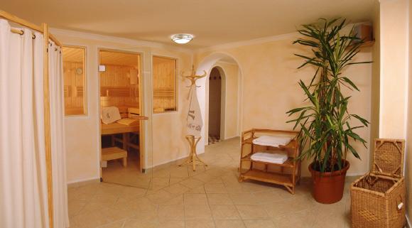 Saunabereich Haus Daheim